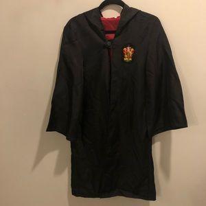 Harry Potter gryffindor wizard robe black
